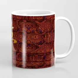 Textiles Asian Coffee Mug