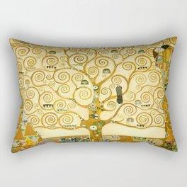 """Gustav Klimt """"Tree of life"""" Rectangular Pillow"""