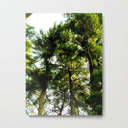 Bubble Trees Metal Print