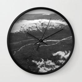 Glacier Buddies Wall Clock