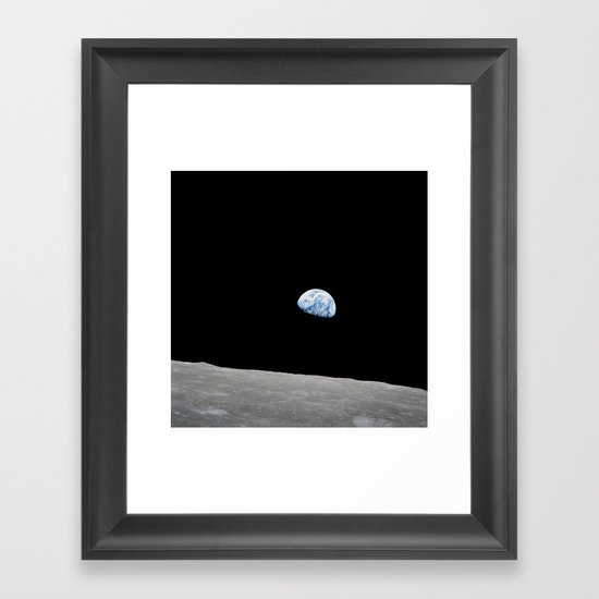 Apollo 8 - Iconic Earthrise Photograph by projectapollo
