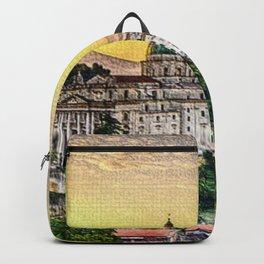 Naples, Italy Landscape Backpack