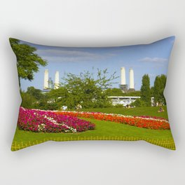 Battersea Power Station and Battersea Park Rectangular Pillow