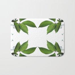 Mesmerizing Nature | Leafy Frame Up Bath Mat