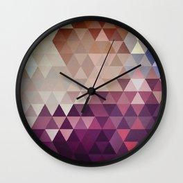 Straight Up Wall Clock