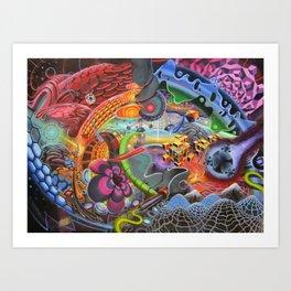 Panspermia Art Print
