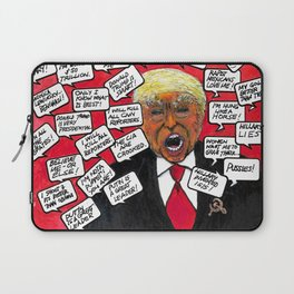 Trump Needs to go NOW Laptop Sleeve