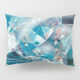 Aqua Crystal Pillow Sham