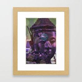 BRONZE DAYDREAMER Framed Art Print