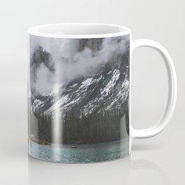 Mountains in fog Coffee Mug