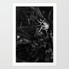 Redwood Roots Art Print