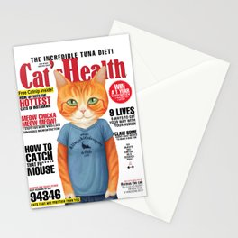 Cat's Health Stationery Cards