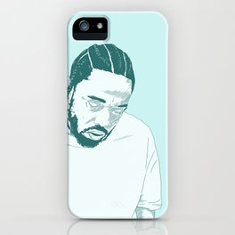 Damn. Kung Fu Kenny iPhone Case