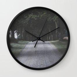 I think I felt it... Wall Clock