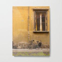 Bologna Bicycle Metal Print