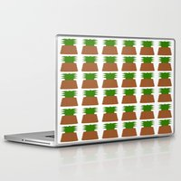 pineapples Laptop & iPad Skins featuring Pineapples by Justbyjulie