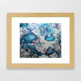 Bulberous Growth Framed Art Print