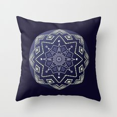 Wedgewood Sphere Mandala Throw Pillow