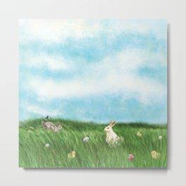 Easter Prairie 1a Metal Print