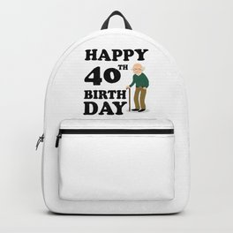 FUNNY OLD | 1978 Birthday Shirt Backpack