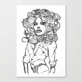 Original Lines Canvas Print