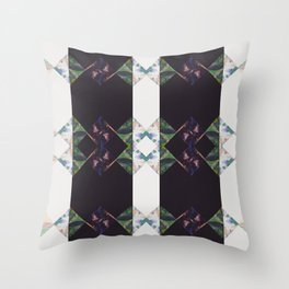 DNA - Digital Diamonds Collection - Rxby Throw Pillow
