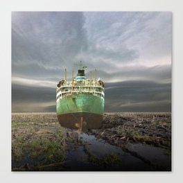 atmosphere · stranded Canvas Print