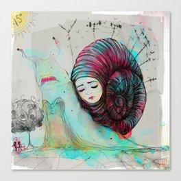 Caracool calor Canvas Print