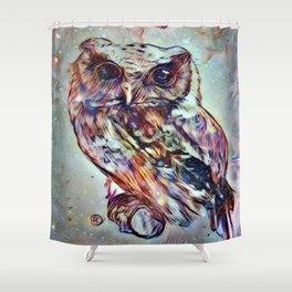 Owl 3 Shower Curtain