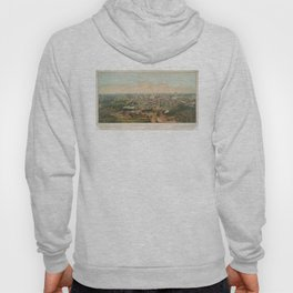 Vintage Pictorial Map of Columbus OH (1867) Hoody