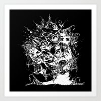 nightmare Art Prints featuring Nightmare by George Peters