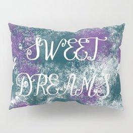 Sweet Dreams Paint Splatter Pillow Sham