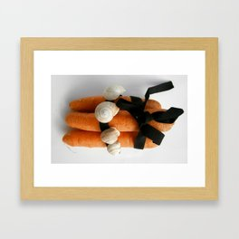 Carrots Framed Art Print