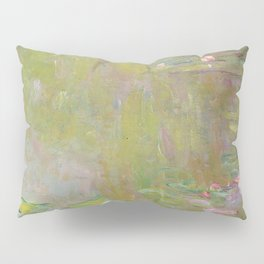 Water Lily Pond by Claude Monet Pillow Sham
