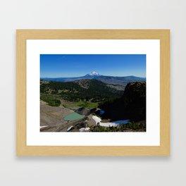 Mt. Jefferson Framed Art Print