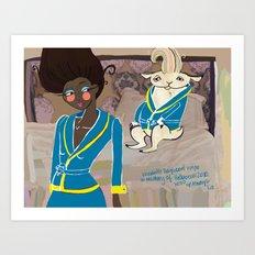 Poster for Adam Art Print