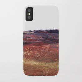 Rainbow rocks, Iceland iPhone Case