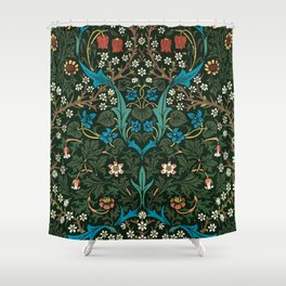 Blackthorn by William Morris, 1892 Shower Curtain