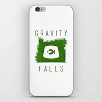 fez iPhone & iPod Skins featuring Gravity Falls - Grunkle Stan's Fez (White) by pondlifeforme