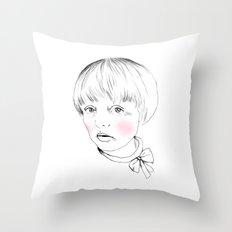 Bow Throw Pillow