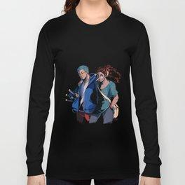 Sniper and Swordsman Long Sleeve T-shirt