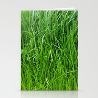 grass Stationery Cards featuring grass by Кaterina Кalinich