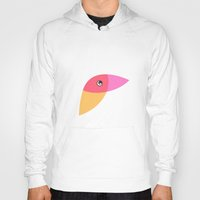 parrot Hoodies featuring Parrot by Volkan Dalyan