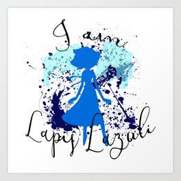 I am Lapis Lazuli Art Print