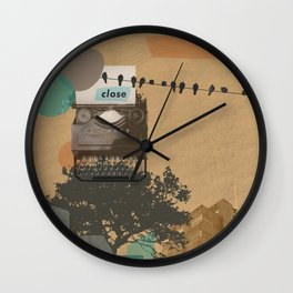 The future will not be monospaced Wall Clock
