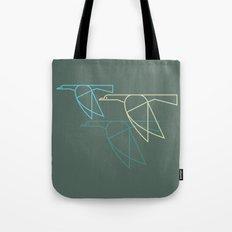 Mid-Century Style Ducks Tote Bag