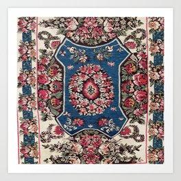 Bessarabian Moldavian Kilim Art Print