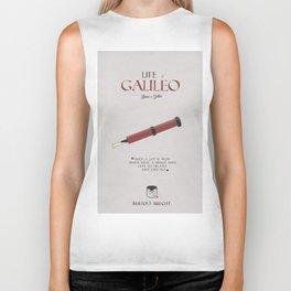 Life of Galileo Galilei, Bertolt Brecht, book cover, classic novel, play, poster, penguin, theatre Biker Tank