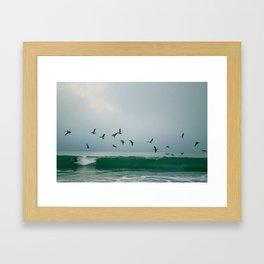 Gradual Greenroom Framed Art Print