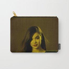 Hayley Steinfeld - Celebrity (Florescent Color Technique) Carry-All Pouch